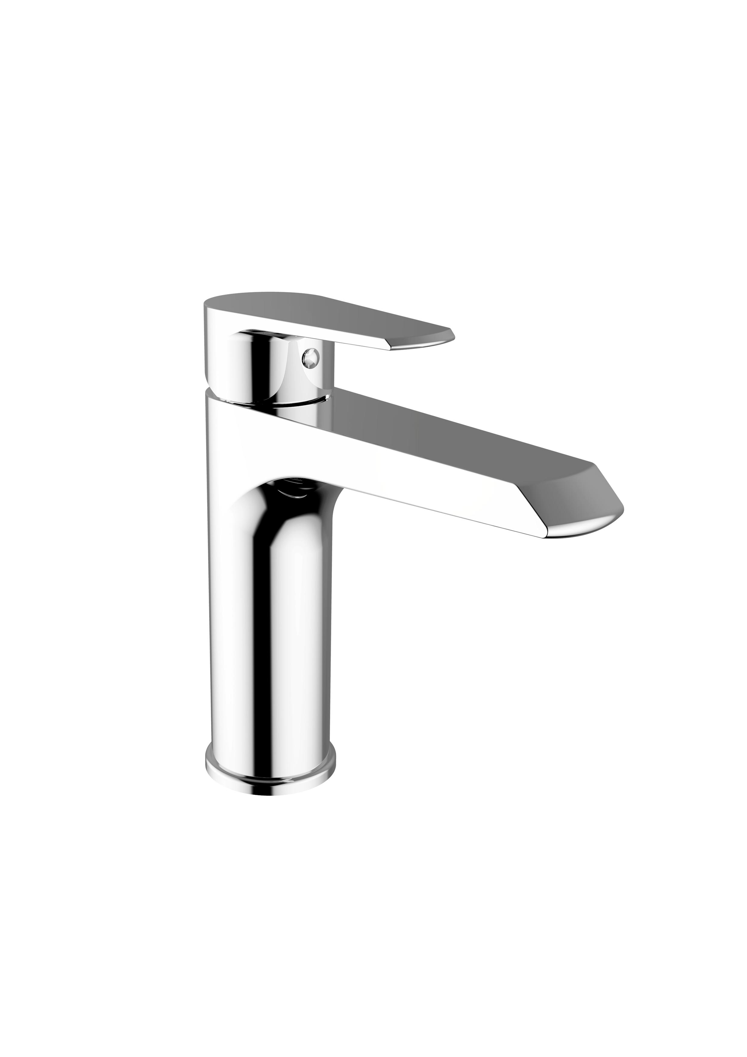 Immagine HD VELVET Medium wash basin mixer with pop-up waste
